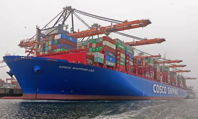 COSCO partners with Bank of China for blockchain based bill landing. Image: Wikimedia / kees torn