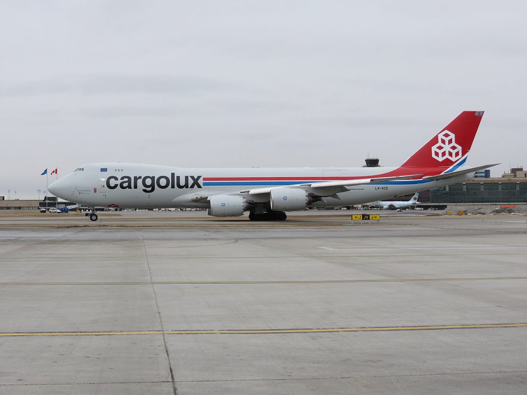 Cargolux and DB Schenker announce new charter connection for pharma cargo. Image: Cargolux