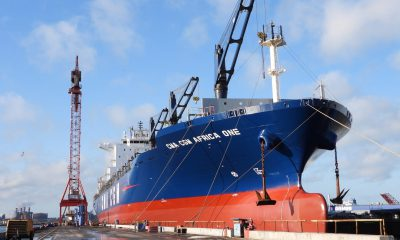 Damen carried out maintenance and repair projects on CMA CGM vessels. Image: Damen Shipyards Group