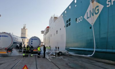Valenciaport leads Spain in natural gas supply operations. Image: Port Authority of Valencia