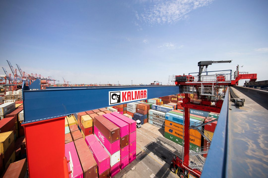 Kalmar to supply six hybrid RTGs to support sustainable growth for TTI Image: Kalmar