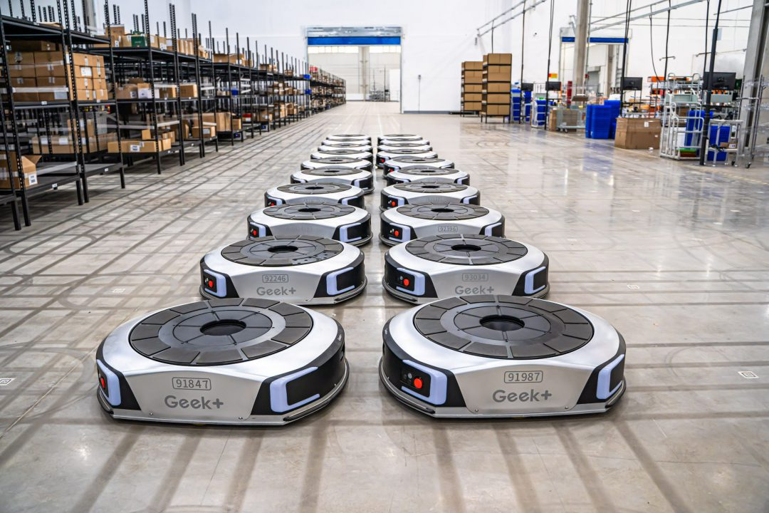 Geek+ and Boreal Technologies partner to accelerate intelligent automation in South America. Image: Geek+