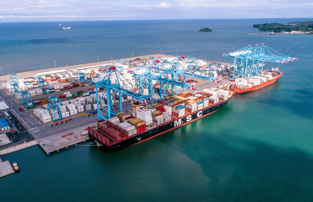 APM Terminals Moín looks into the future with digital platforms to increase efficiency. Image: APM Terminals