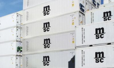 MSC reports another successful year for its reefer cargo services. Image: MSC