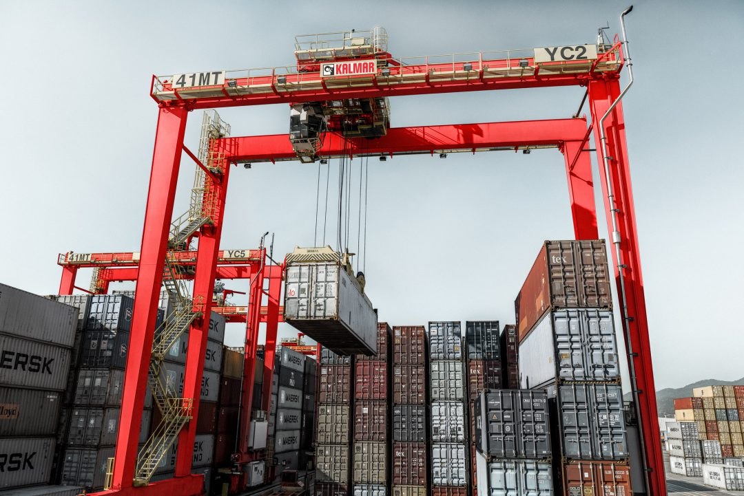 Kalmar signs an agreement with Vientiane logistics park's new dry port in Laos. Image: Kalmar