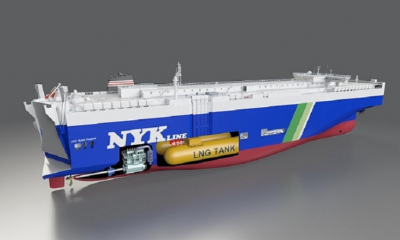 MacGregor to supply environmentally sustainable PCTC solutions to NYK Line. Image: CARGOTEC
