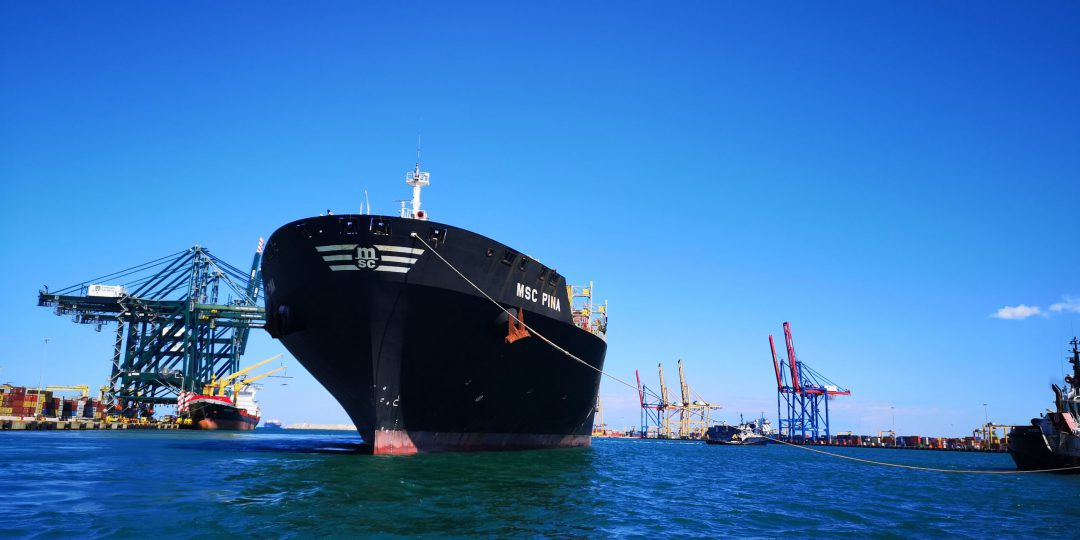 The Port of Valencia reduces its carbon footprint by 30%. Image: Port Authority of Valencia