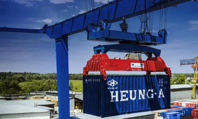 Russian container transport giant RUSCON sets up Smartcontainer BV. Image: Ruscon