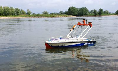 Van Oord acquires second autonomous survey vessel. Image: Van Oord