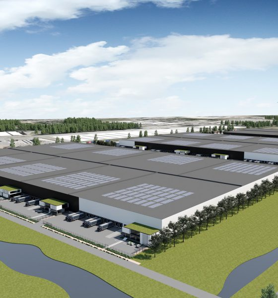 P&O Ferrymasters builds new 10,000m2 warehouse at Genk to offer port-centric logistics solutions. Image: P&O Ferrymasters