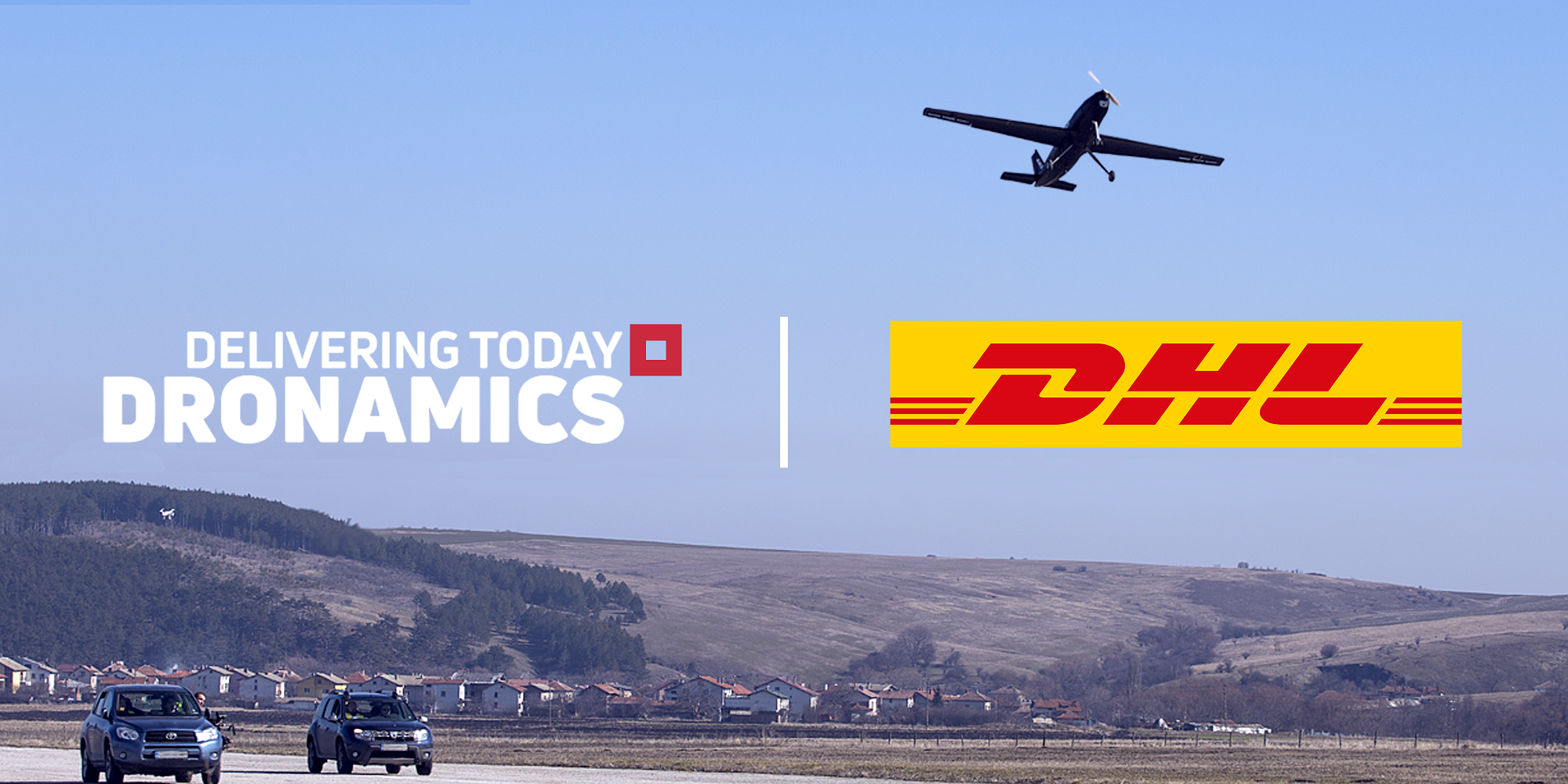 Dronamics and DHL enter partnership for middle-mile drone delivery. Image: Dronamics