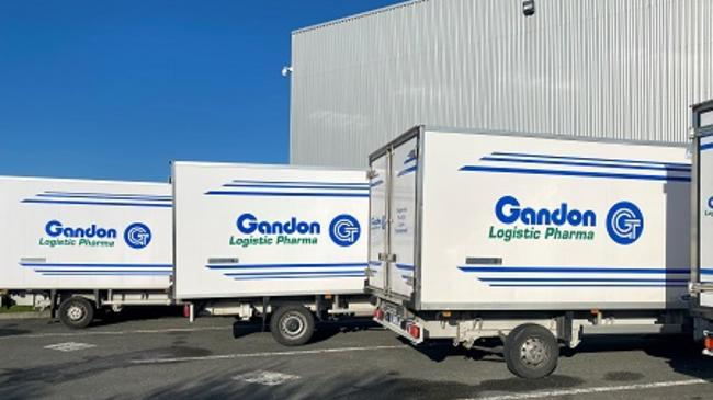 GANDON Transports a pharma freight specialist acquired by Geodis. Image: Geodis