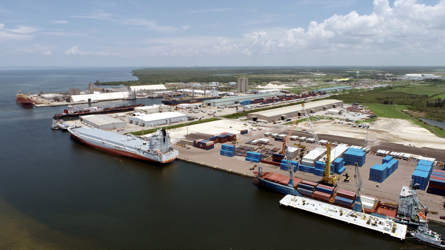 Port Manatee welcomes facility acquisition by Aceros Arequipa unit. Image: Port Manatee