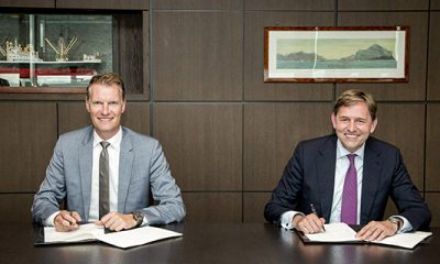 Shell and MSC sign collaboration agreement on decarbonising shipping Image: MSC