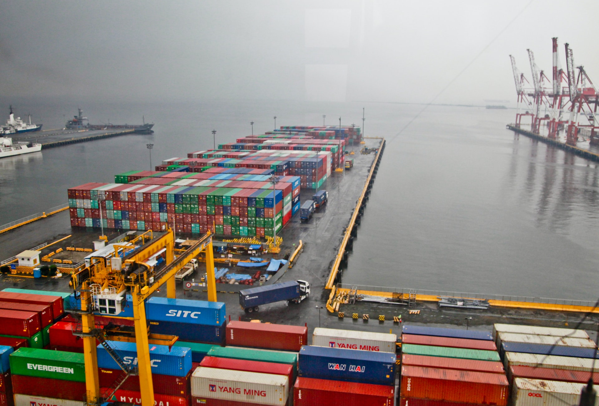 Most of the twelve largest container carriers have not publishedtheir Sustainability Reports for the year 2020 yet. Image: Gliese Foundation