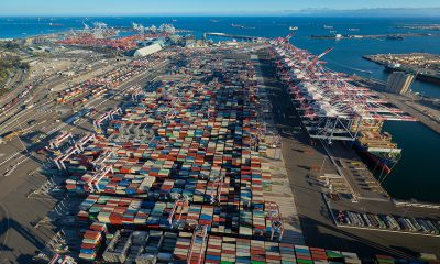 Port of Long Beach completes greenest port in America. Image: Port of Long Beach