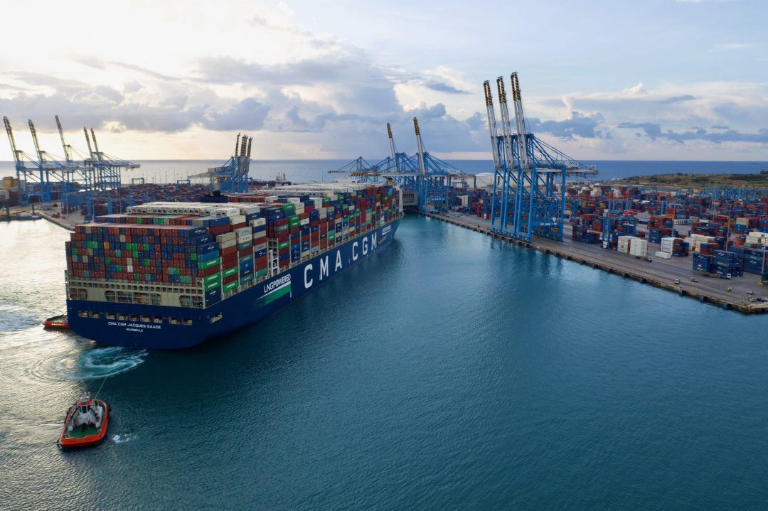 CMA CGM makes the decision to stop all spot rate increases. Image: CMA CGM