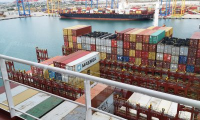 Valenciaport handled 3,000 export containers a day in August. Image: Valenciaport