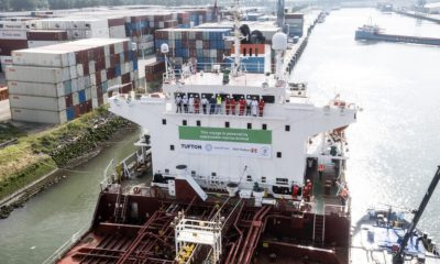 Tufton and GoodFuels successfully complete biofuel voyage to accelerate sustainability in shipping. Image: GoodFuels