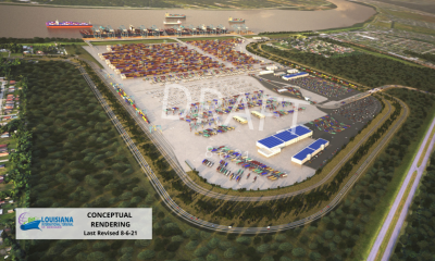 Port of New Orleans to build new container terminal. Image: Port of New Orleans.