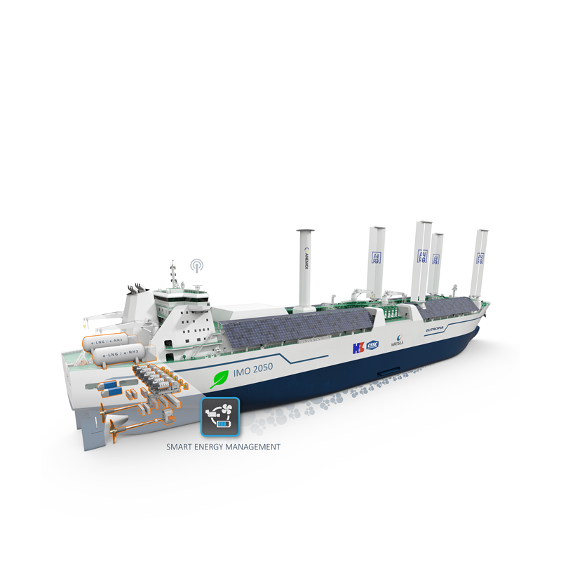 Wartsila to support Hudong-Zhonghua and ABS to develop IMO2050 CII-Ready LNG Carrier. Image: Wartsila