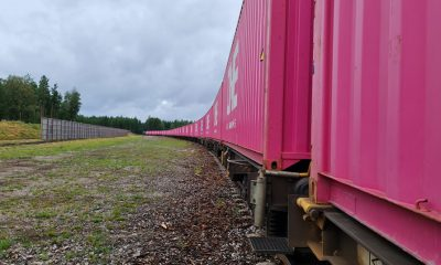 Port of Gothenburg launches new train service to boost Swedish forest products. Image: Port of Gothenburg