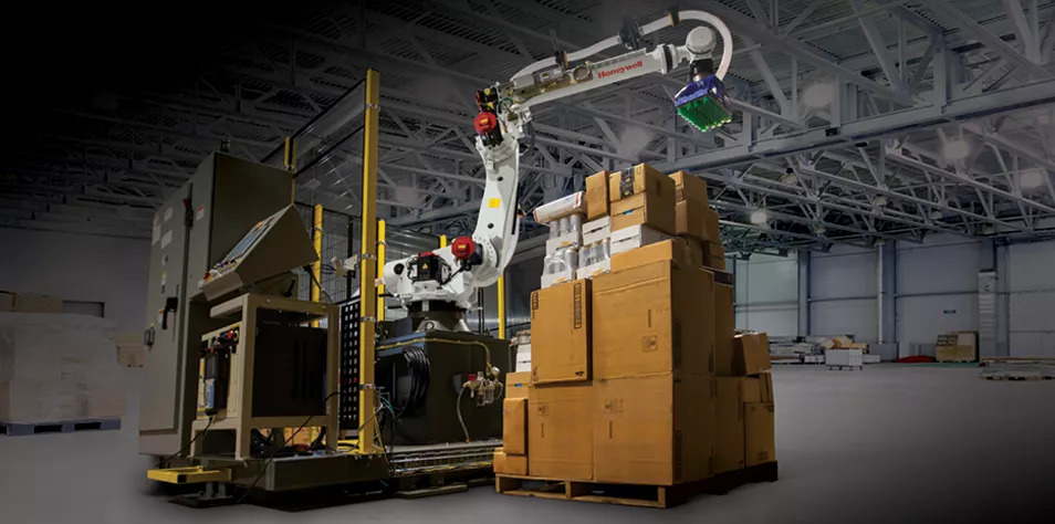 Honeywell introduces new robotic technology to help warehouses boost productivity, reduce injuries. Image: Honeywell