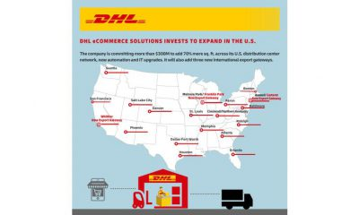 DHL invests more than $300 million in booming e-commerce business. Image: DHL
