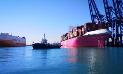Valenciaport's import/export traffic leapt again in September with growth. Image: Port Authority of Valencia