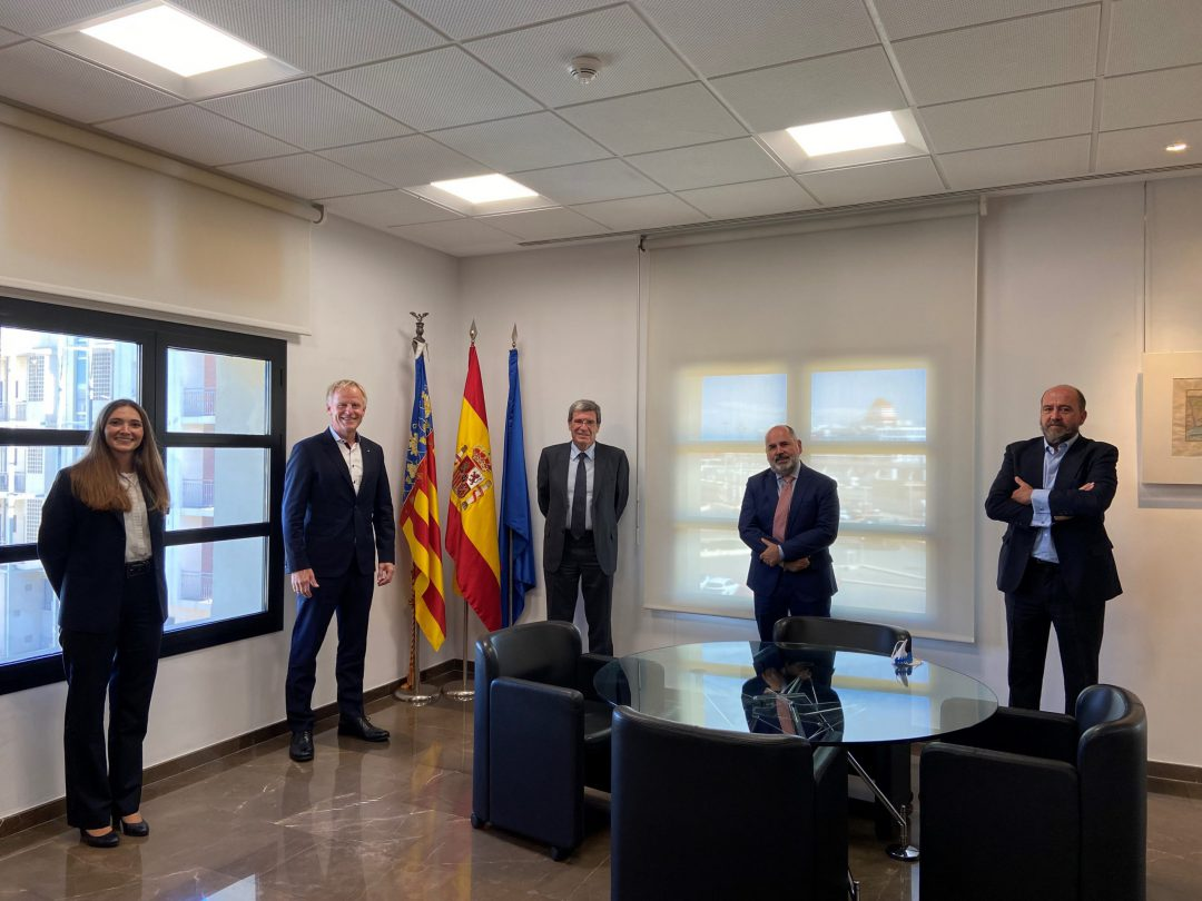 Valenciaport and the Port of Hamburg strengthen relations on environmental matters, mobility and digital transformation. Image: Port Authority of Valencia
