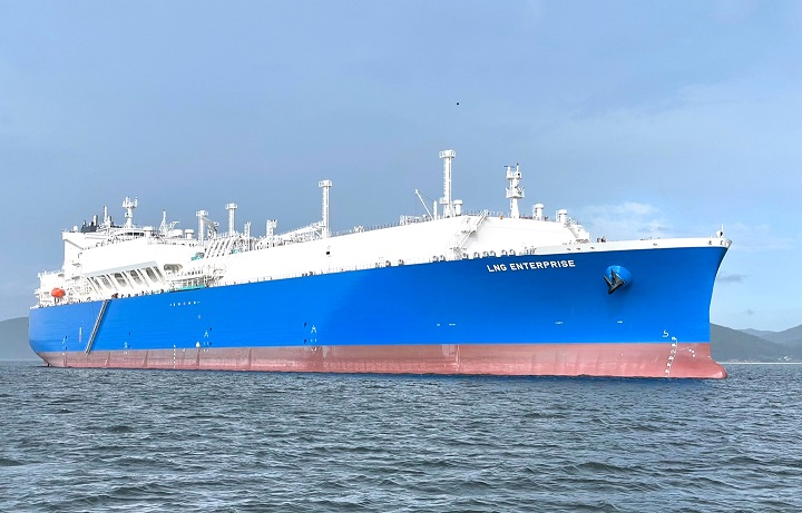 NYK delivers new LNG carrier to TotalEnergies. Image: NYK Line