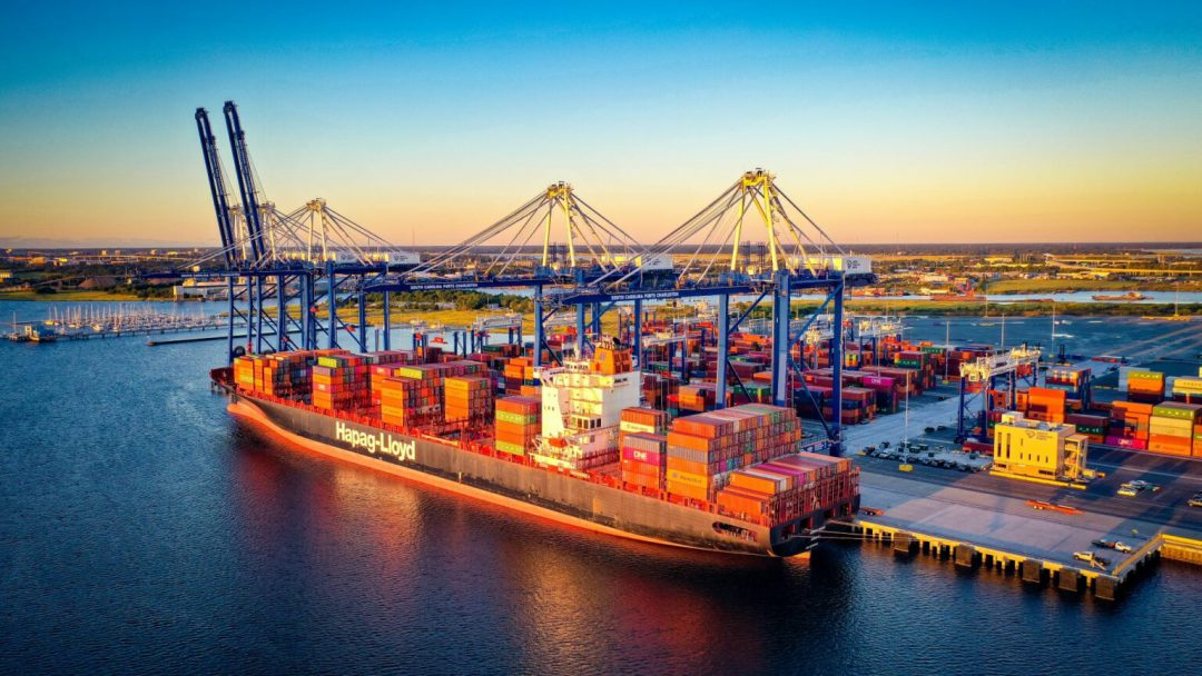 Retail imports drive record September at South Carolina Ports. Image: South Carolina Ports